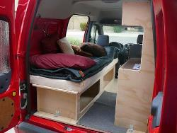 Homemade Ford Transit Connect Conversion
